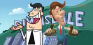 Project PS Zone Pair - Timmy's Dad and Hugh Neutron