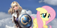 Project PS Zone Pair - Pyrrha and Fluttershy