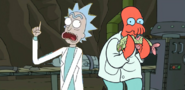 Project PS Zone Pair - Rick and Zoidberg