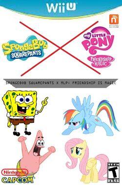 Spongebob x mlpfim