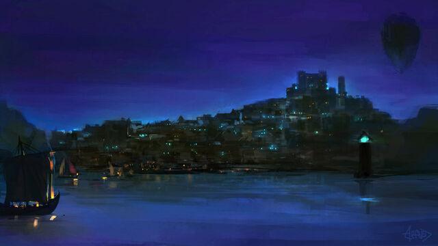 File:City of azure fire by artsed-d8wxrup.jpg