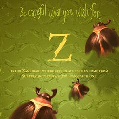 <i>Z is for Zanzibar</i>.
