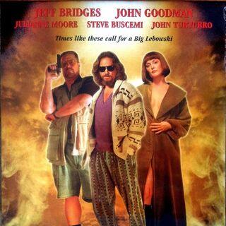 The Big Lebowski poster.