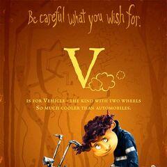 <i>V is for Vehicle</i>.