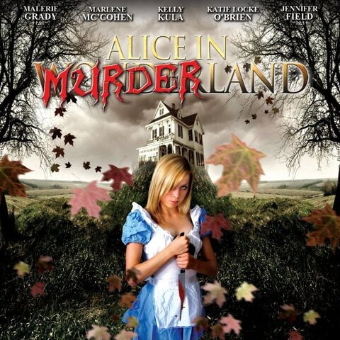 Alice in Murderland (2010) poster.