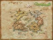 Worldmap dawn of mana