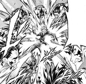 Hinokage attacks Chougasaki