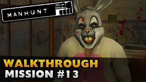 Manhunt - Gameplay Walkthrough - Scene 13 Kill The Rabbit