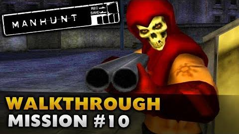 Manhunt - Gameplay Walkthrough - Scene 10 Graveyard Shift