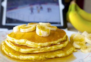 A golden (medal) breakfast.