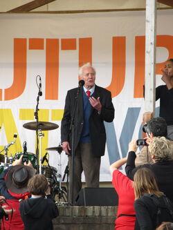 Tony Benn, Tolpuddle 2012