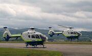 Garda helicopters