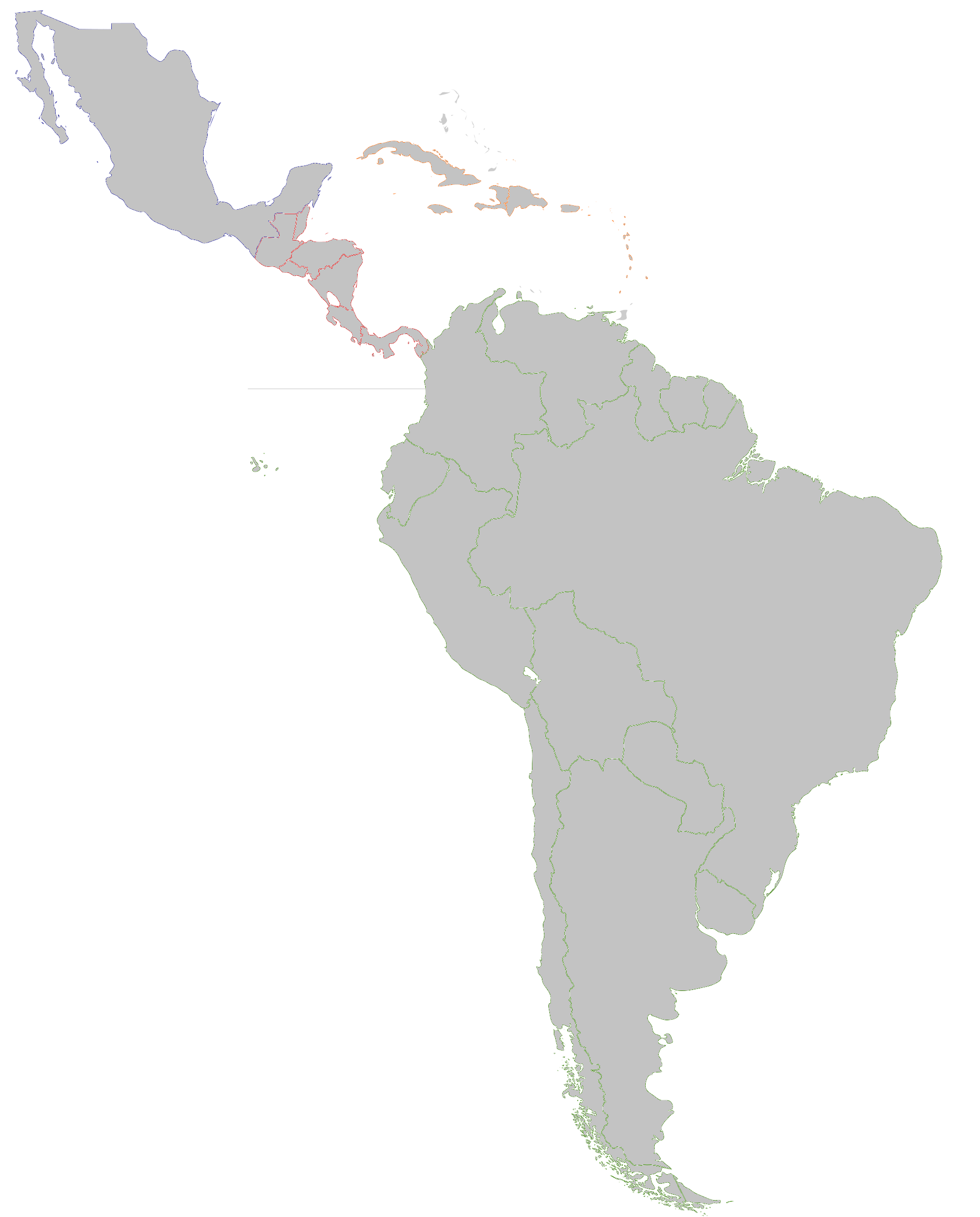 CategoryTerminal Velocity Latin America Map Game Map Game - Map of the latin america
