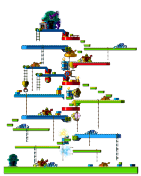 Map Warped Path of Time 1