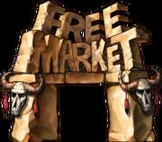 Free Market entrance