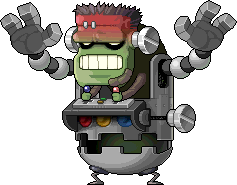Mob Angry Frankenroid