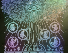 Mural of Heroes and World Tree
