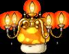 Mob Mushroom Chandelier
