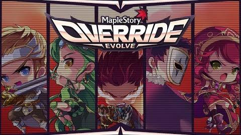 MapleStory Override Evolve Content Update Guide