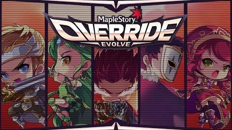 MapleStory Override Evolve Trailer