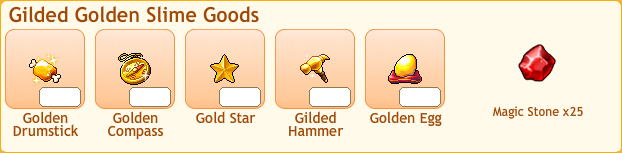 Golden Slime Collection