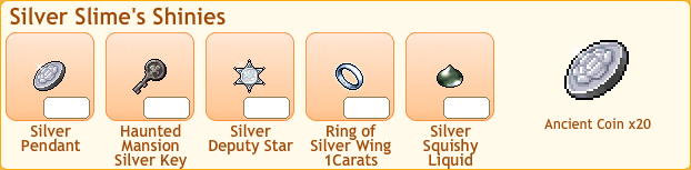 Silver Slime Collection