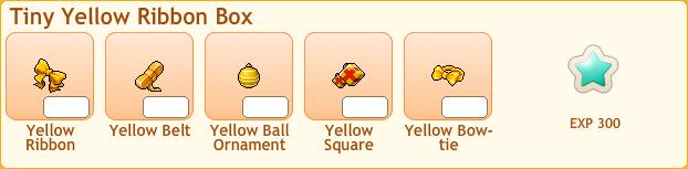 Yellow Ribbon Box Collection