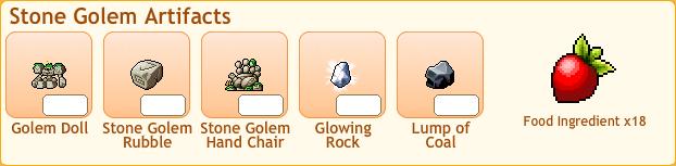 Stone Golem Collection