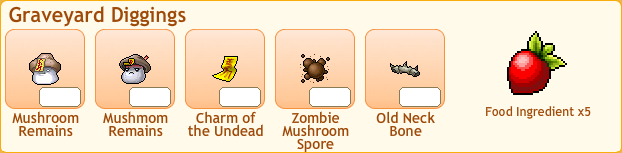 Zombie Mushroom Collection