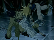 Ginta fighting Ian