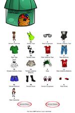 WardrobeGlassesShoes