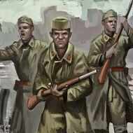 UNI Conscripts Portrait