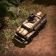 CAR AssaultBus 3DPortrait Patagonian