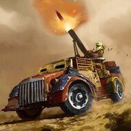 WAR MortarTechnical Portrait