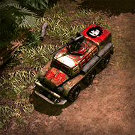 CAR AssaultBus 3DPortrait Guevara
