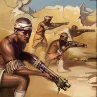 WAR Zulus Portrait