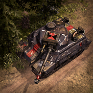 ALI HeavyTank 3DPortrait Cossack