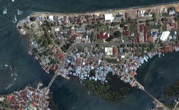 Banda aceh shoreline before june23 2004 dg