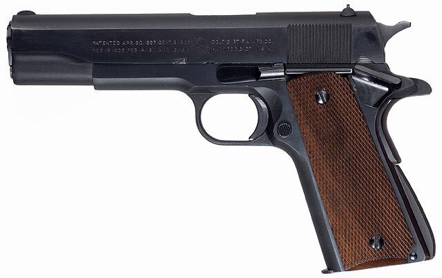 File:Colt1911A1PreWar.jpg