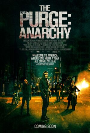 The Purge Anarchy Movie Poster