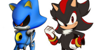 Shadow x Metal Sonic