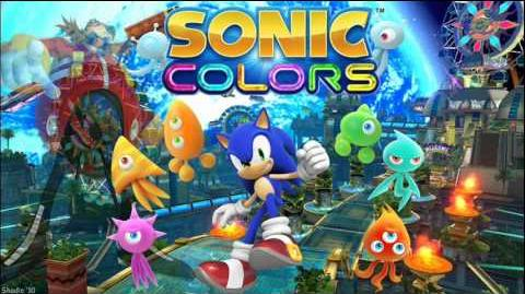 "Sonic Colors ""Planet Wisp Map"" Music"