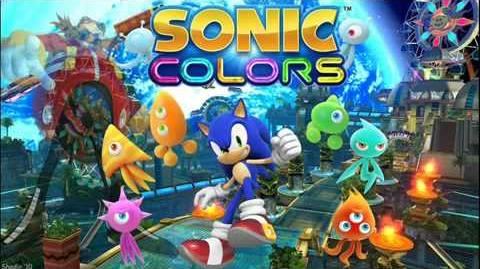 Sonic Colors Music - Sweet Mountain Act 2
