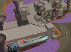 Bowser's Castle MKDD
