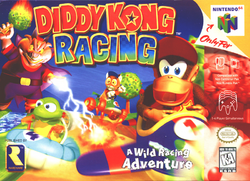Diddy Kong Racing - North American boxart
