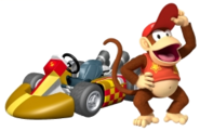 MKWii Diddy Kong