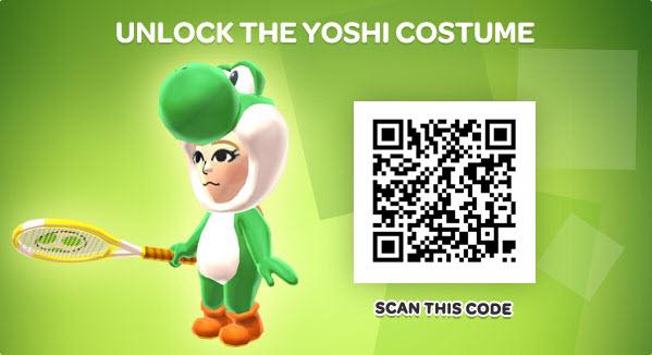 Daisy Mii Qr Code Tomodachi Life: Imagen - PANEL YOSHI-COSTUME-QR.jpg