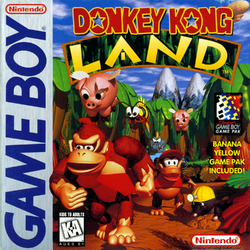 Donkey Kong Land - North American Cover