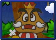 Goomba King Tattle (Paper Mario)