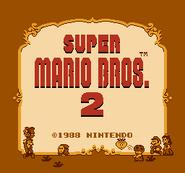 Title Screen Prototype (Super Mario Bros. 2)